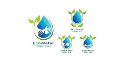 Natural Green Tree Logo With Ecology Leaf Design 3