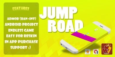 Jump Road - Buildbox Template
