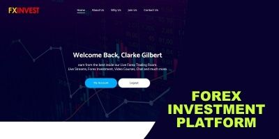 FXInvest  - Investment And Trading Platform Script