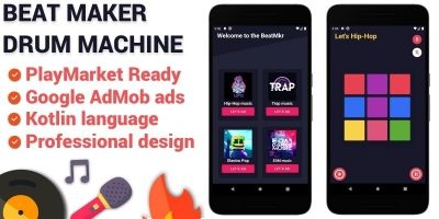 Beat Maker Android Application Template