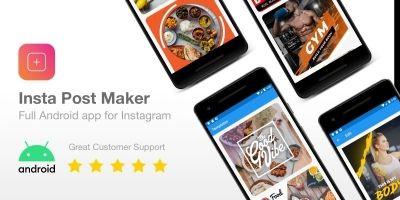 Insta Post Maker - Full Android App For Instagram