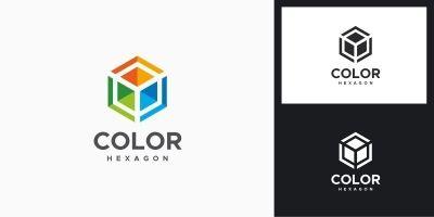 Color Hexagon Logo