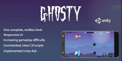 Ghosty - Complete Unity Game