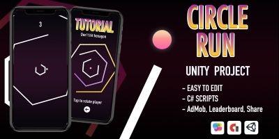 Circle Run - iOS App Template