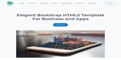 Landi- Elegant Bootstrap HTML5 Template