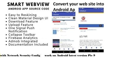 Smart WebView Android App Source Code