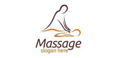 Massage Logo Design 4