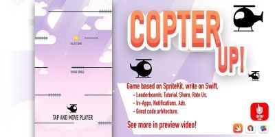 Copter Up - iOS App Template