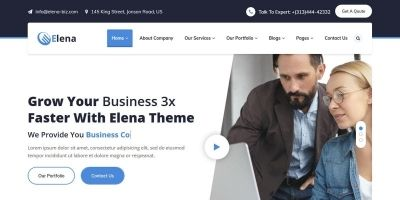 Elena - Multipurpose Business HTML5 Template