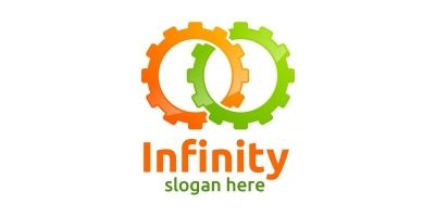 Infinity Loop Logo Design 8