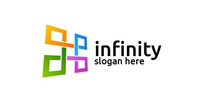 Infinity Loop Logo Design 25