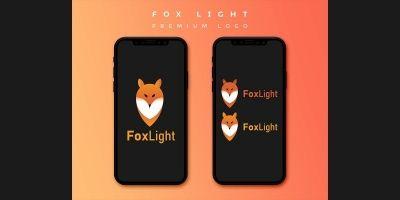 Fox Light - Premium Logo