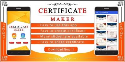 Certificate Maker - Android App Template