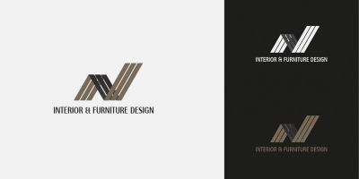 Interior And furniture Logo