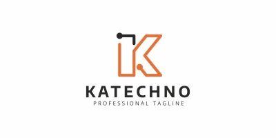 Katechno K Letter Logo