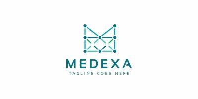 Medexa M Letter Logo