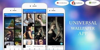 Universal Wallpaper App Android Template