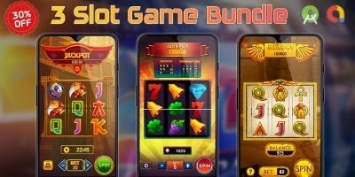 3 Slot Game Bundle Android Studio