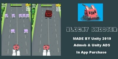 Blocky Shooter - Unity Source Code