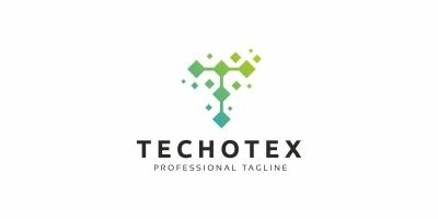 Techotex T Letter Logo