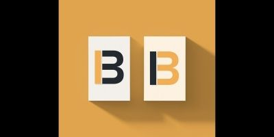 B Logo - Beautiful Minimalist Logo