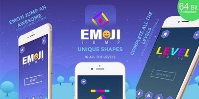 Emoji Jump Buildbox Template With Admob