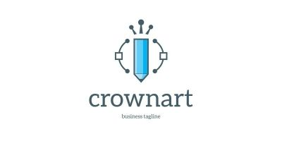 Crown Art Logo Template
