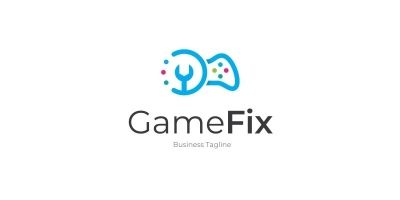 Game Fix Logo Template