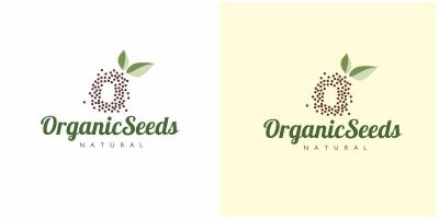 Organic Seeds Logo Letter O