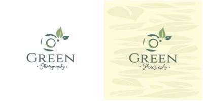 Green Photography Logo