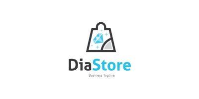 Diamond Store Logo Template