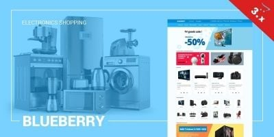 Blueberry OpenCart 3 Responsive Theme