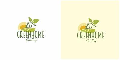 Green Eco Home Logo