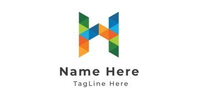 H Letter Logo Design Template