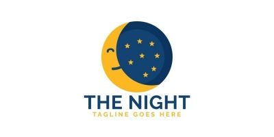 The Night Logo Design