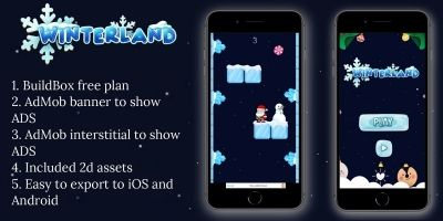 Winterland - BuildBox Template