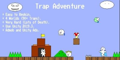 Trap Adventure - Unity Game Template