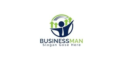 Businessman Logo Design