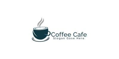 Coffee Cafe Logo Design
