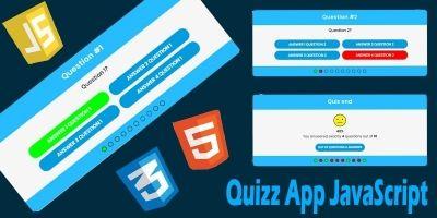 Quizz App JavaScript