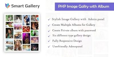 PHP Image Gallery With Album
