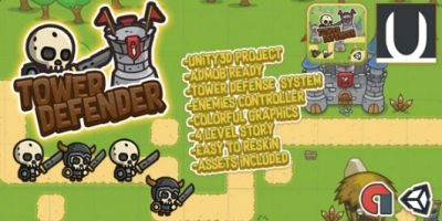 Tower Defender - Unity3D Game Source Code