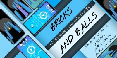 Bricks And Balls - BuildBox 3D game