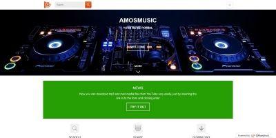 Amosmusic - Youtube Music portal PHP Script