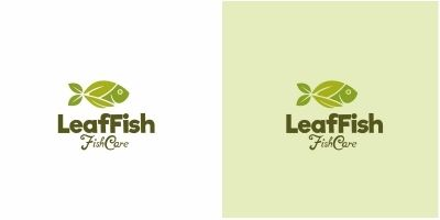 Leaf Fish Logo