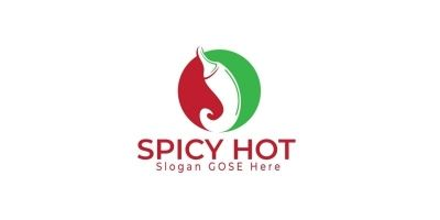 Spicy Hot Logo Design