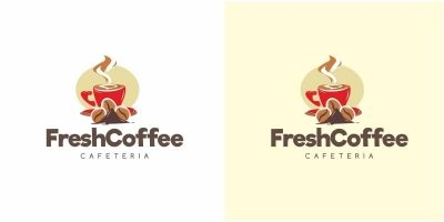 Fresh Coffee Logo