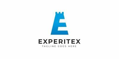 Experitex E Letter Logo