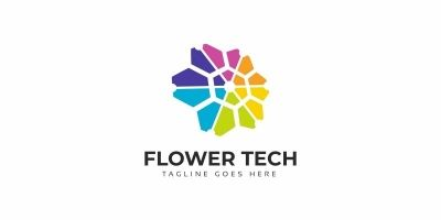 Flower Tech Logo
