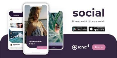 Social Pro UX/UI Multipurpose Starter Theme